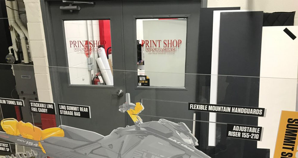 Upstaging Print Shop