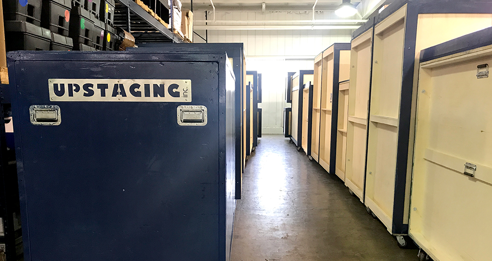 Upstaging Event Production: Storage and Warehousing availability