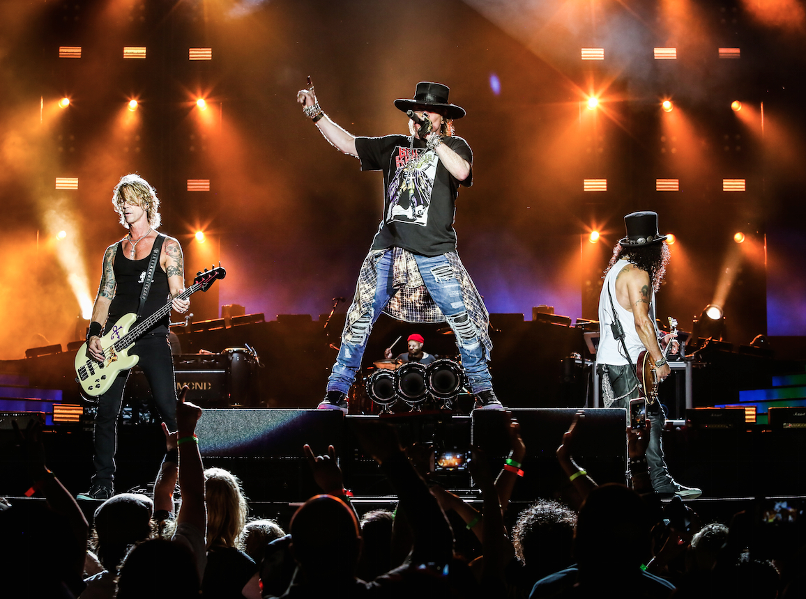Who Is Touring With Guns N Roses